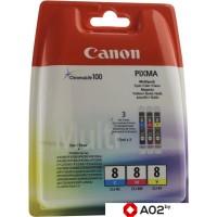Картридж для принтера и МФУ Canon CLI-8 MultiPack [0621B029AA]