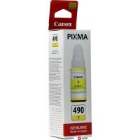 Картридж для принтера и МФУ Canon GI-490Y [0666C001]